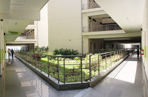 Inside View of Symbiosis Indore Campus