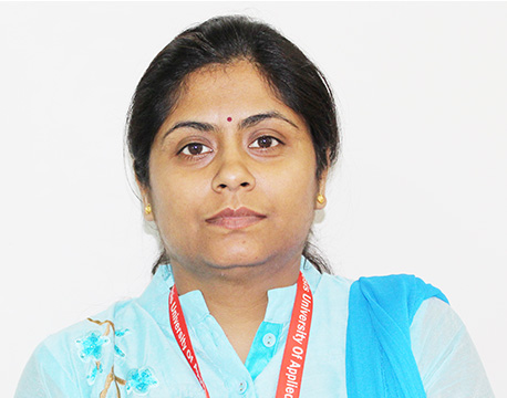 Mrs. Amruta Belapurkar Sharma - Assistant Professor