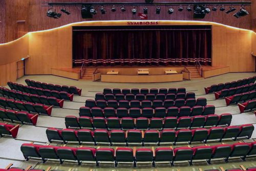 Symbiosis Indore Auditorium Inside View