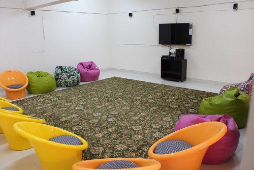 Symbiosis Hostel Common Room