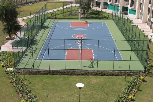 Symbiosis-Indore-Basketball-Court
