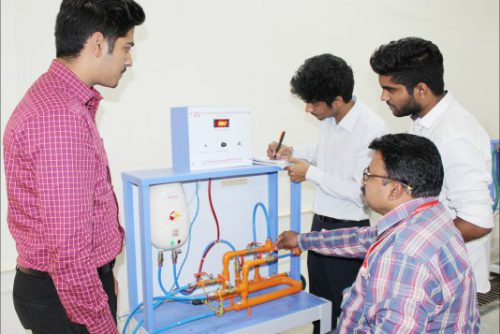 Symbiosis-Indore-Heat-Exchanger-Experiment
