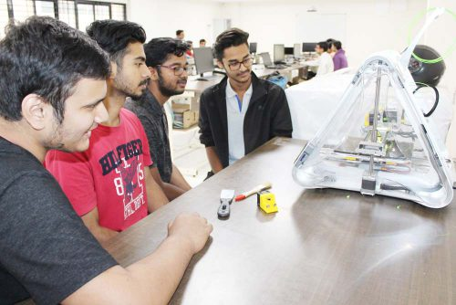 3d Printing Lab at Symbiosis Indore