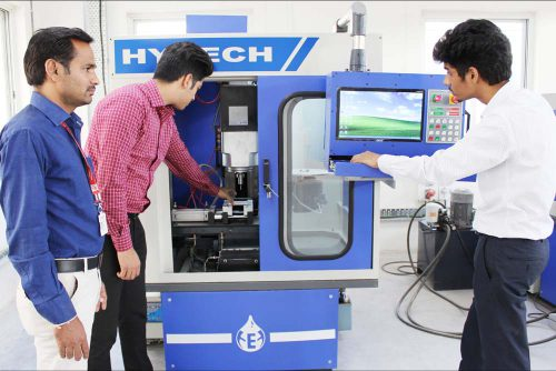CNC-Milling at Symbiosis Indore