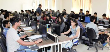Computing Lab at Symbiosis Indore