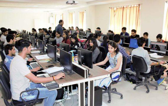 Computing Lab at Symbiosis Indore