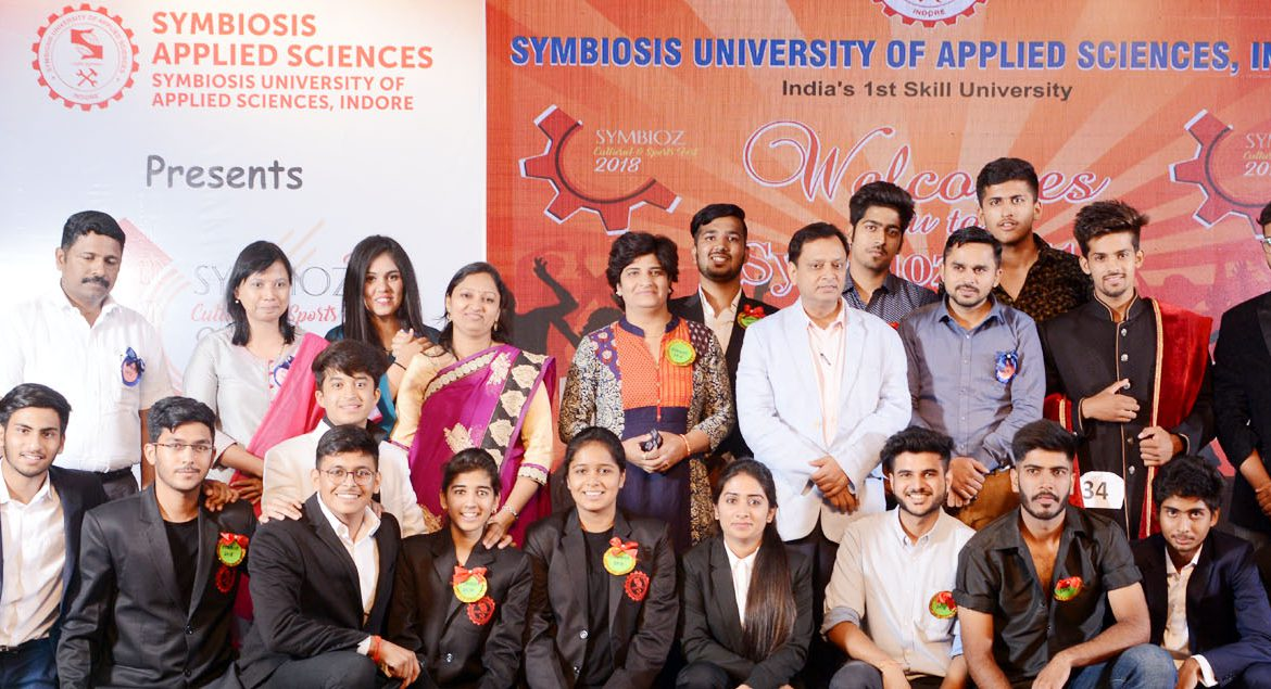 Group Photo from Symbiosis Indore