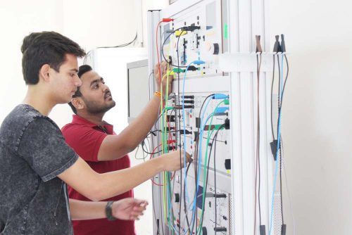 Mechatronics Lab of Symbiosis Indore