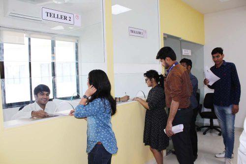 Mock Bank of Symbiosis Indore