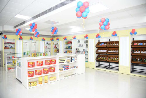 Retail Lab of Symbiosis Indore