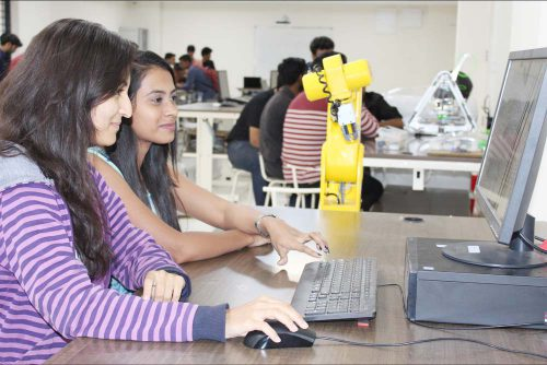 Robotics Lab of Symbiosis Indore