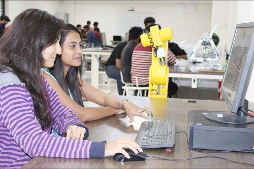 Robotics Lab of Symbiosis Indore