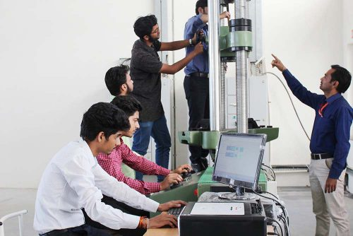 Symbiosis Indore UTM Testing Modulus Facility