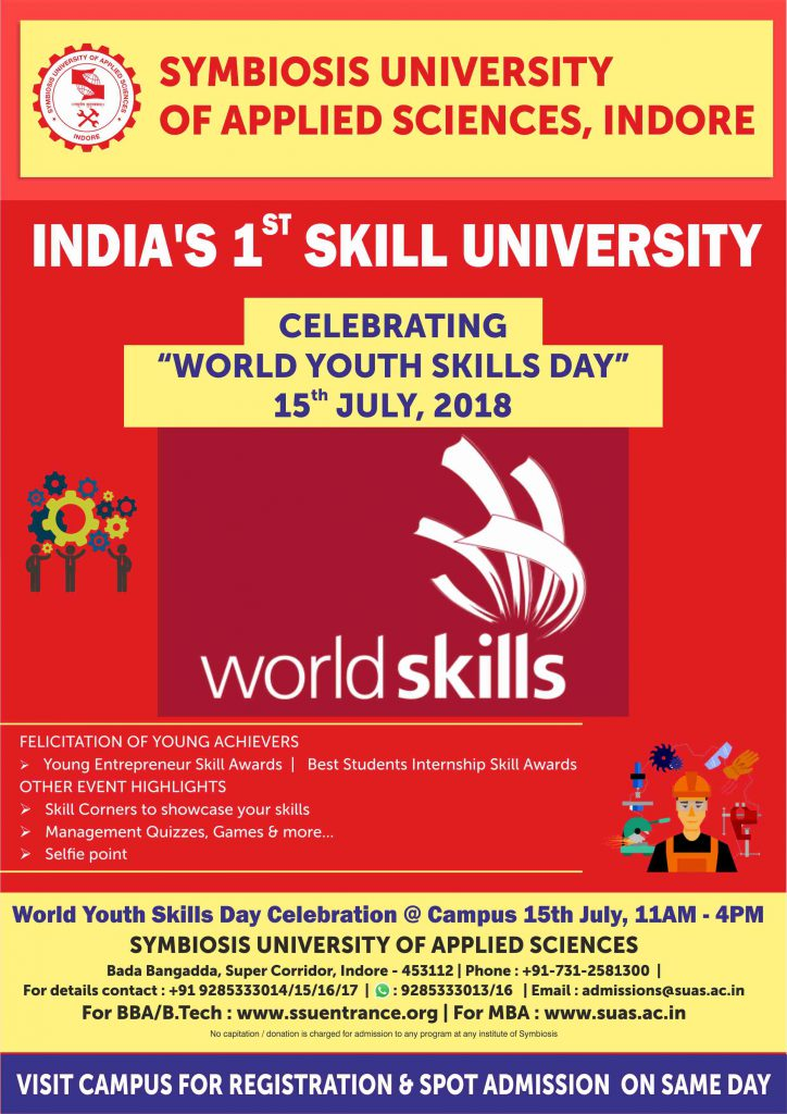Symbiosis-Indore-World-Youth-Skill-Day