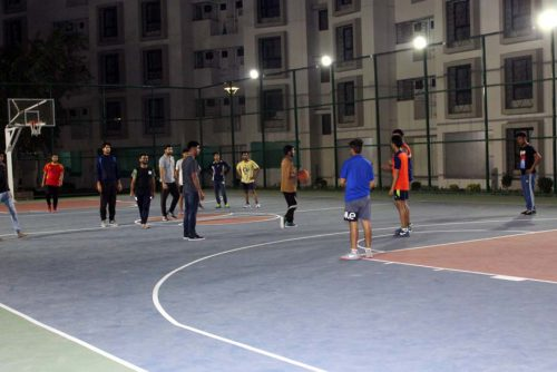 Symbiosis-Indore-Basketball