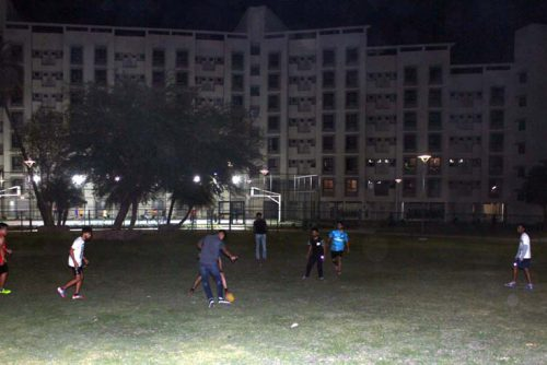 Symbiosis-Indore-football ground
