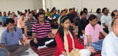 Celebration of International Yoga Day