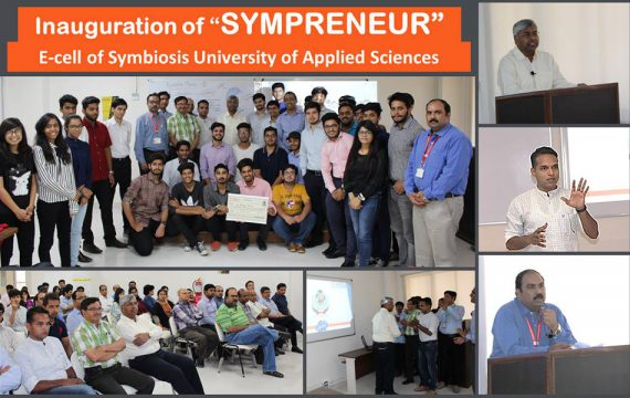 Inauguration of Sympreneur E-cell