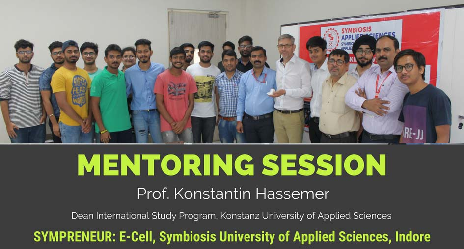 Mentoring Session by Prof. Konstantin Hassemer