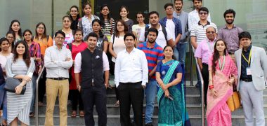 Seminar on Entrepreneurship at Symbiosis University Indore