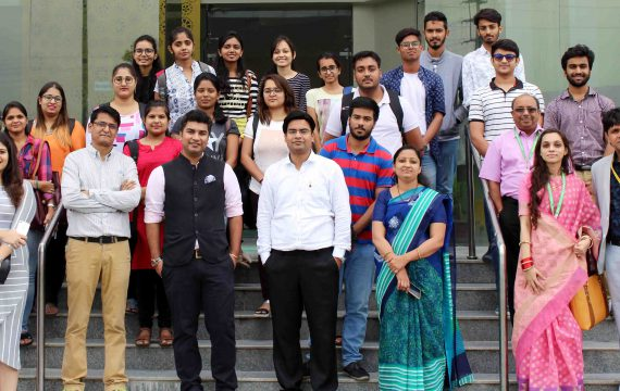 Seminar on Entrepreneurship at Symbiosis University Indore