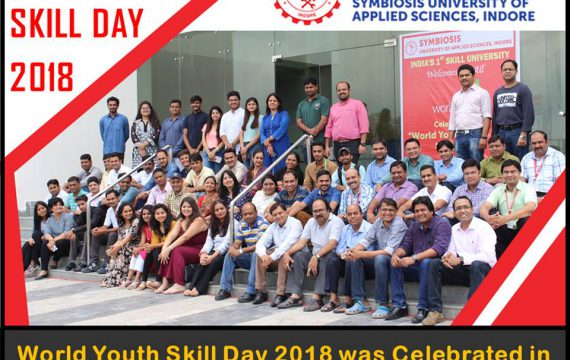 Symbiosis Indore Would Youth Skill Day