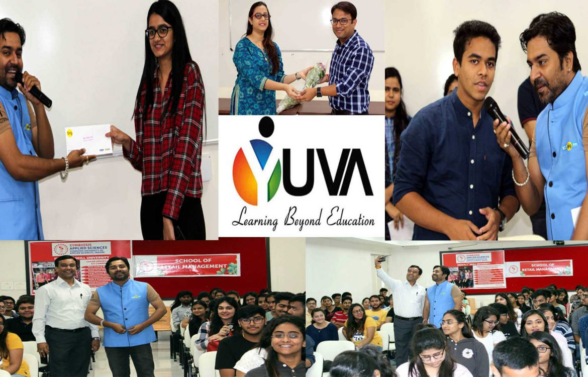 Symbiosis University in Association with YUVA ( YI) an initiative of CII conducted an induction for the students.