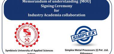Academia collaboration with Simplex Metal Processor, Indore