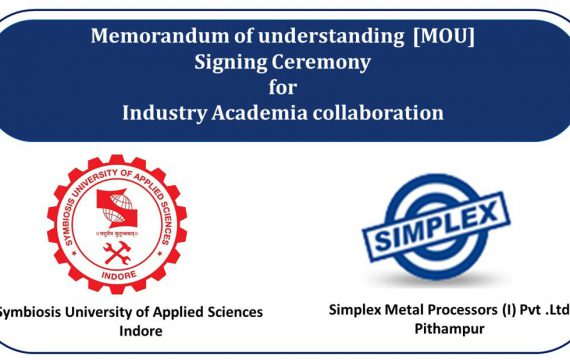 Academia collaboration with Simplex Metal Processor, Indore
