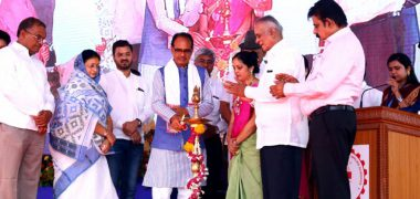 Symbiosis University Indore Inauguration Candle Lighting Ceremony