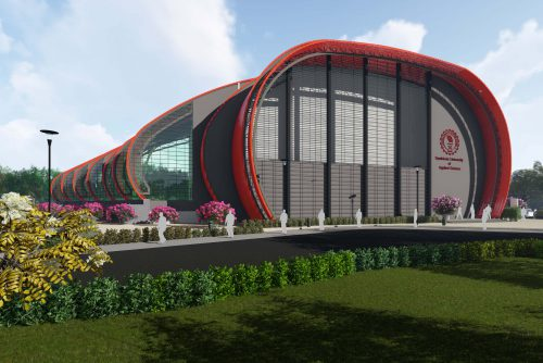 Symbiosis Indore Auditorium front view