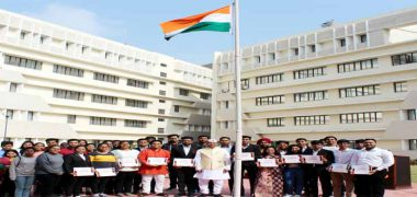 Symbiosis Indore Republic Day Celebration