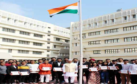 Symbiosis Indore Republic Day Celebration