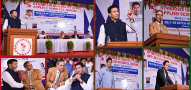 Induction Program of Symbiosis University, Indore A Roaring Success