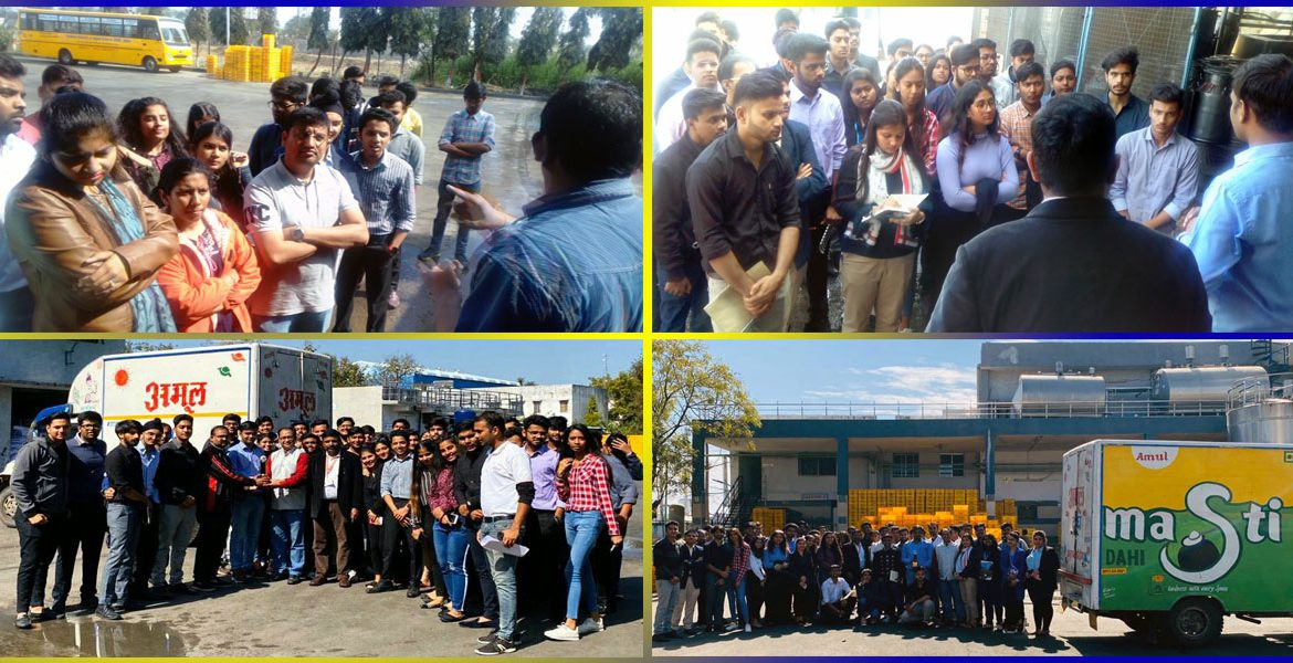 visit to Panchmahal Amul Milk Packaging plant