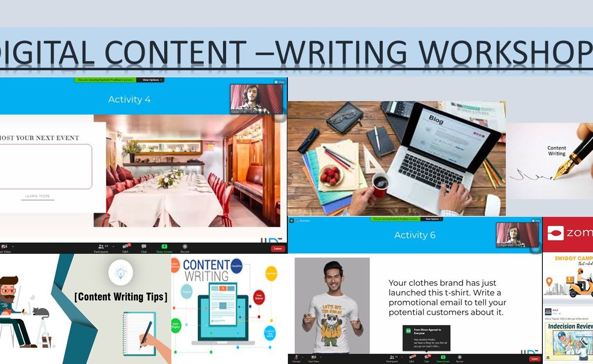 Digital Content Writing