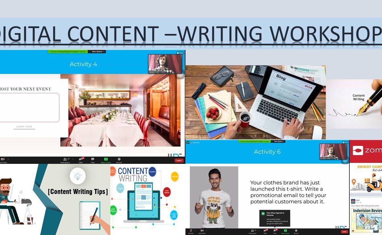 Digital Content Writing