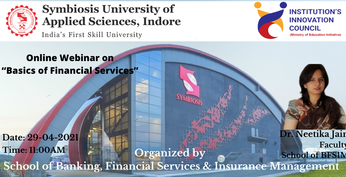 Basics of Financial Services