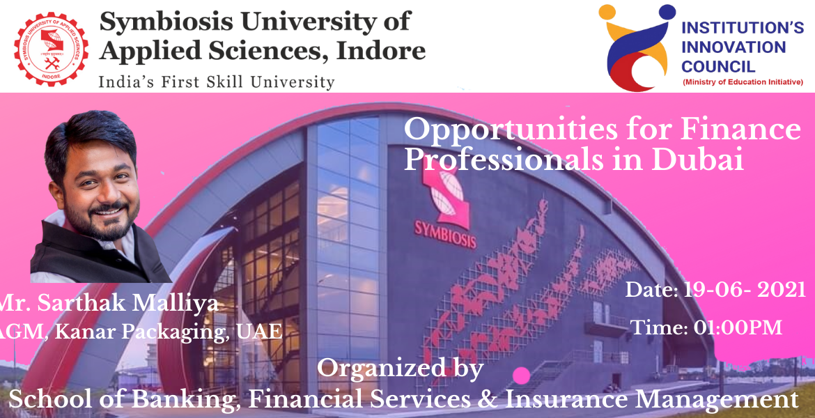 Opportunities for Finance Professional