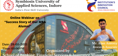 Success Story of Our MBA Alumni