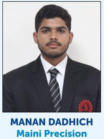 Manan Dadhich